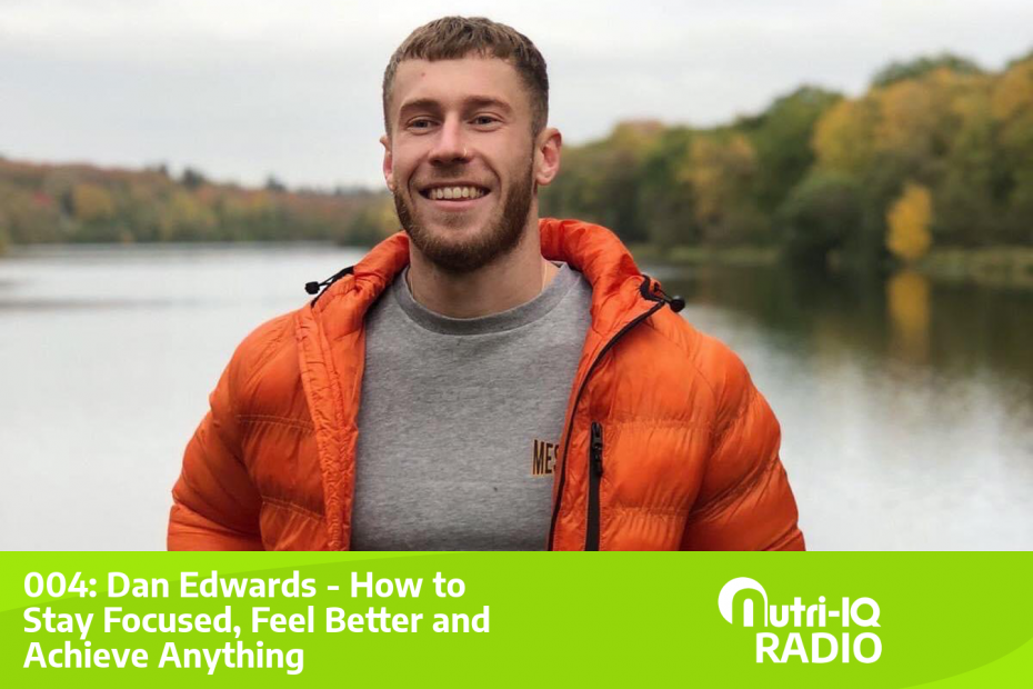 This week's guest Dan Edwards smiling near a lake.