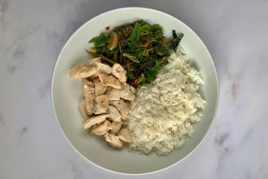Chicken, Rice and Veg