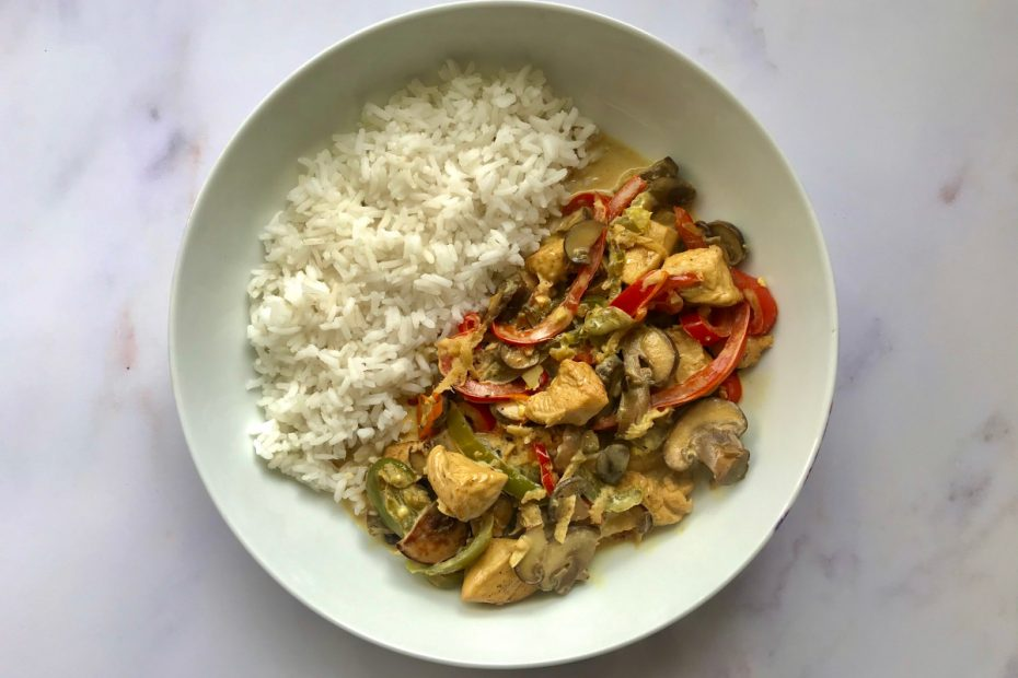Coconut Ginger Chicken