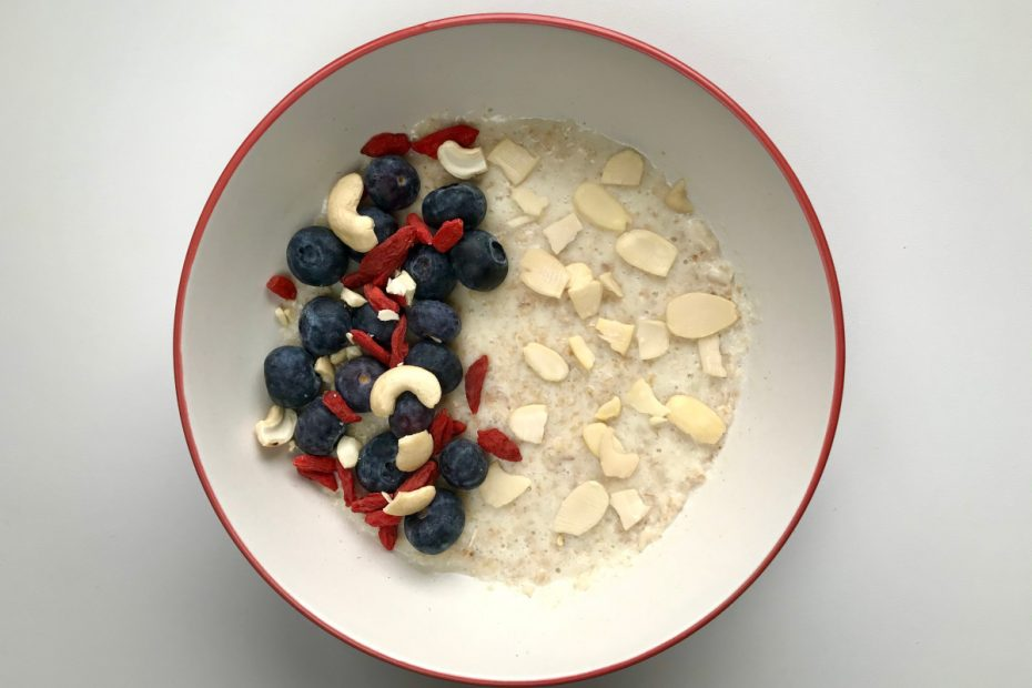 Oats with Nuts & Berries