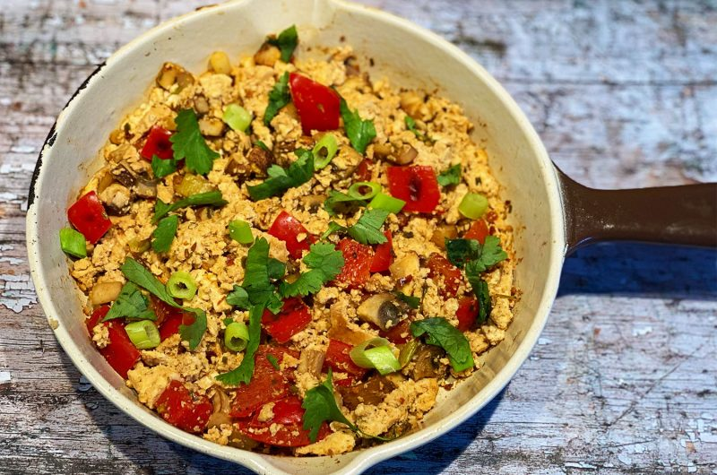 Spicy Tofu Scramble Recipe